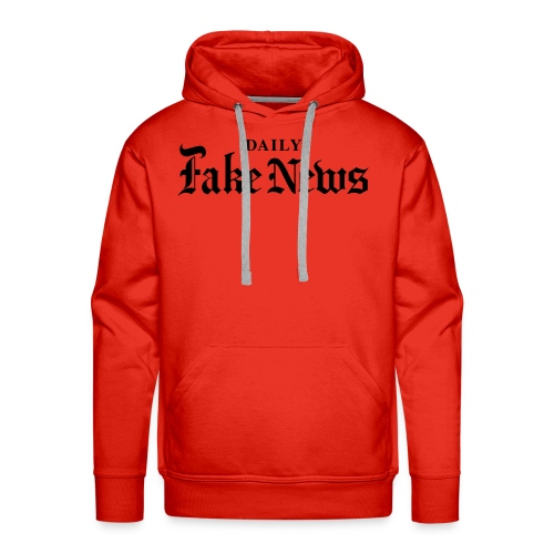 DAILY Fake News - Men's Premium Hoodie