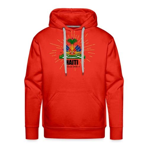 Haiti Emblem - Men's Premium Hoodie