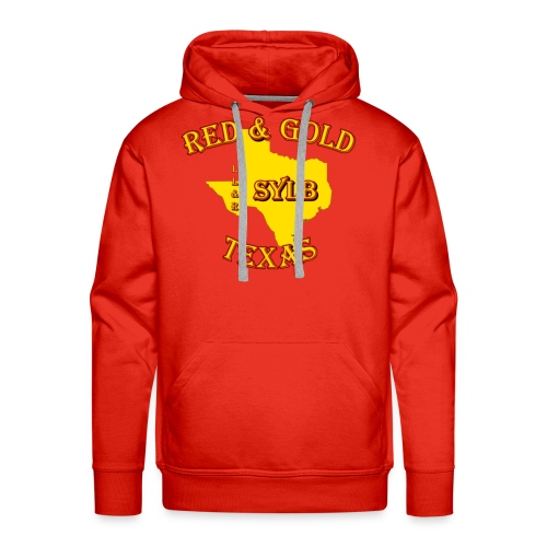 Red and Gold Support #2 - Men's Premium Hoodie