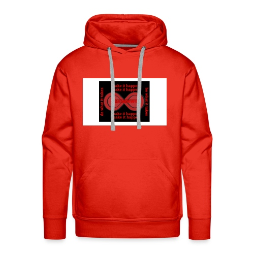 The Make It Happen Design | CreateMeInfinity - Men's Premium Hoodie