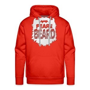 Fear The Beard - Men's Premium Hoodie