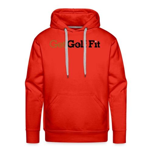 CH GetGolfFit Logo Final Green - Men's Premium Hoodie