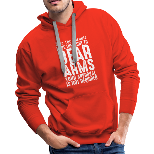 Our Right To Bear Arms - Men's Premium Hoodie