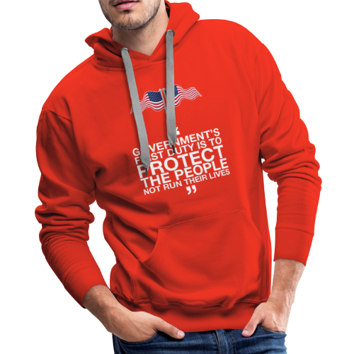 Protect The People - Men's Premium Hoodie