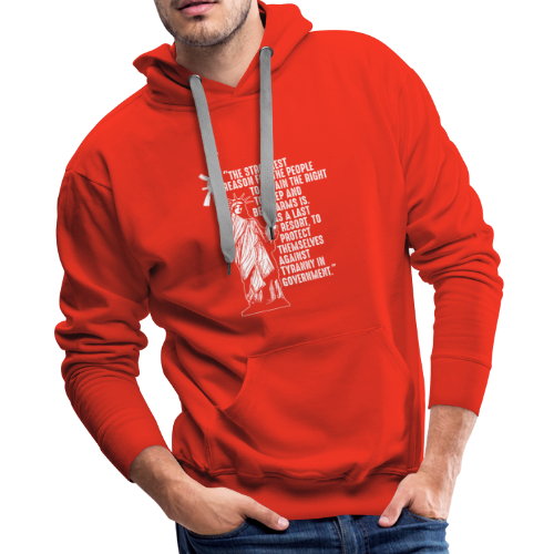Right To Bear Arms - Men's Premium Hoodie