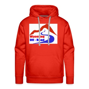 Wyoming Off Road Logo - Men's Premium Hoodie