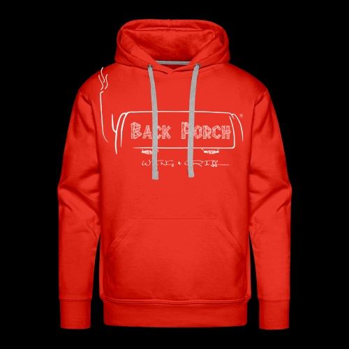 backporch logo conceptv1 2 - Men's Premium Hoodie