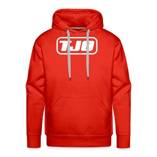 TJO official white - Men's Premium Hoodie