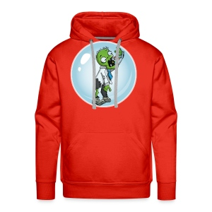 Zombie in a bubble - Men's Premium Hoodie