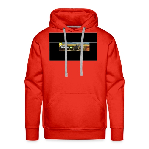 farming logo for youtube - Men's Premium Hoodie