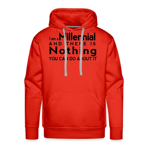 Millennial Pride - Men's Premium Hoodie