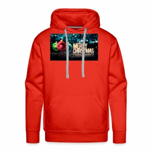 Merry Christmas Balls - Men's Premium Hoodie
