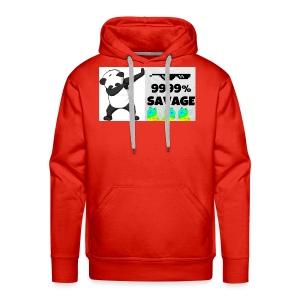 savage bra - Men's Premium Hoodie