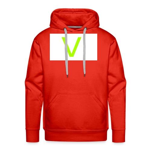 V letter for vast - Men's Premium Hoodie