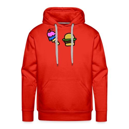 Ice Cream and cheeseburgers - Men's Premium Hoodie