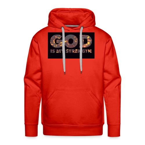 god - Men's Premium Hoodie