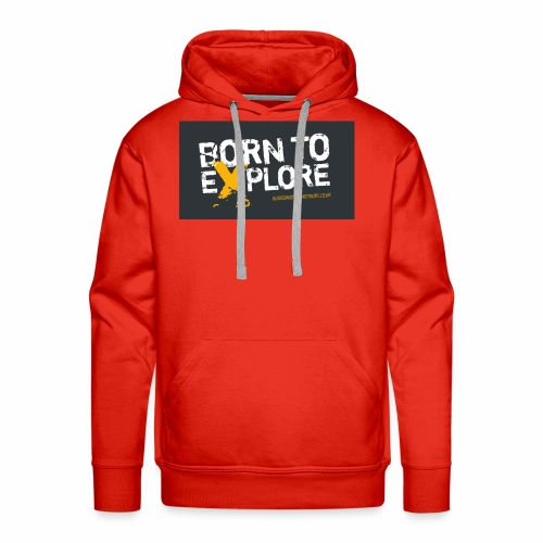 Born To Explore - Healthy Outfit - Men's Premium Hoodie