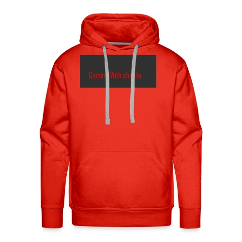 Gaming with charlie merch design - Men's Premium Hoodie
