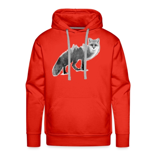 Fox - Save the Forest - Love Nature Store - Men's Premium Hoodie