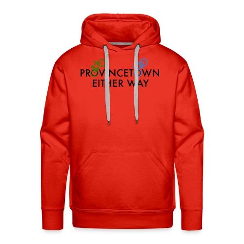 Provincetown Either Way - Men's Premium Hoodie