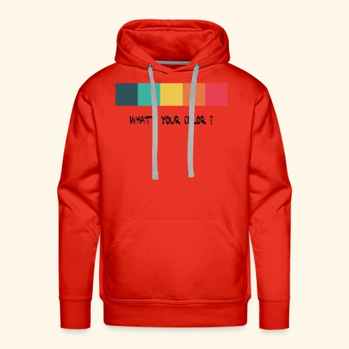 what´s your color? black - Men's Premium Hoodie
