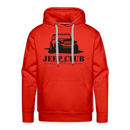 Jeep 4x4 CLub - Men's Premium Hoodie