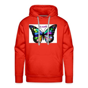Happy Butterfly - Men's Premium Hoodie
