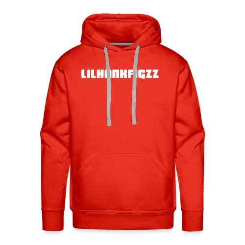 LilHankFigzz White Lowrider Font - Men's Premium Hoodie