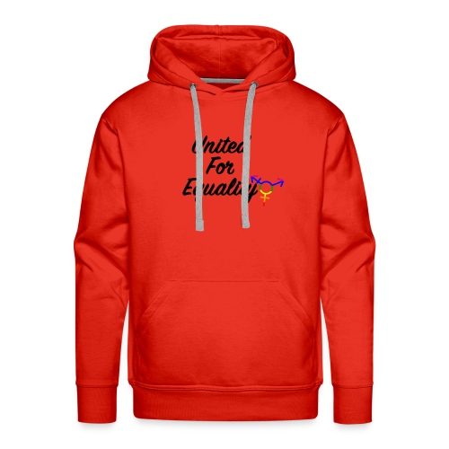 United For Equality Logo - Men's Premium Hoodie