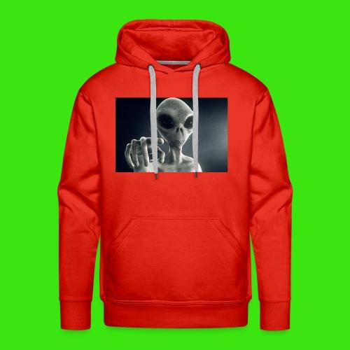Show me De wey to De UFO - Men's Premium Hoodie