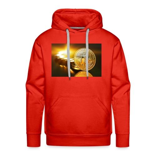 Bitcoin #1 - Men's Premium Hoodie