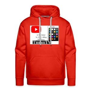 Youtube is my home - Men's Premium Hoodie