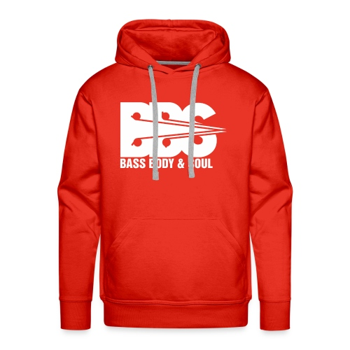 Bass Body and Soul logo - Men's Premium Hoodie