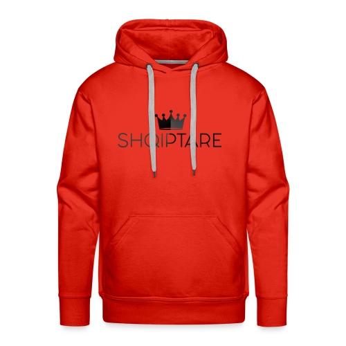 shqiptare black proud albanian king - Men's Premium Hoodie