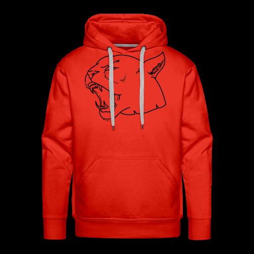 Panther head - Men's Premium Hoodie
