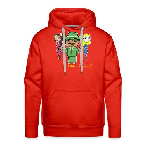 Slick from Marvin the Simp Cartoon - Men's Premium Hoodie