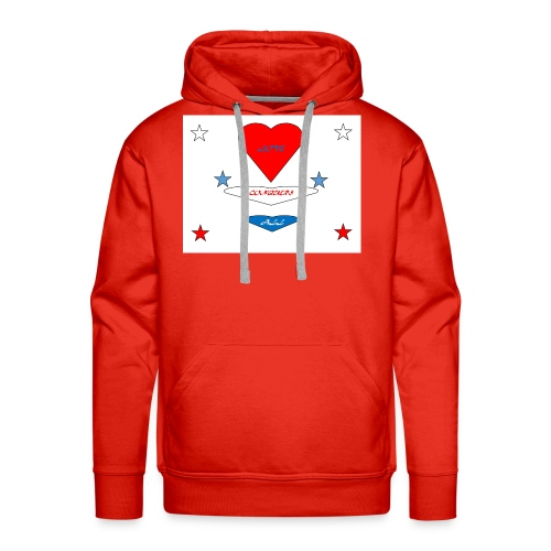 iNNOVA22SWAY LOVE CONQUERS ALL - Men's Premium Hoodie