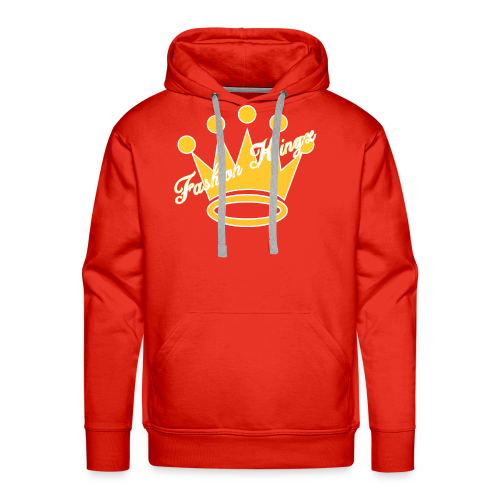 Fashion Kingz Clothing Official Crown Logo - Men's Premium Hoodie