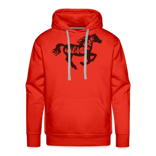 Wild and Free - Men's Premium Hoodie