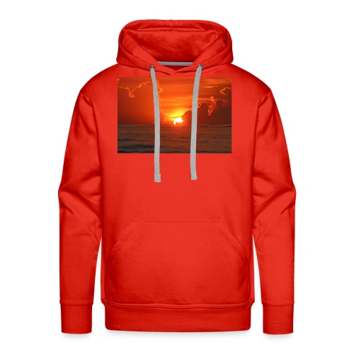 Sunrise on Vilano Beach - Men's Premium Hoodie