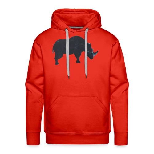 Rhino print - Men's Premium Hoodie