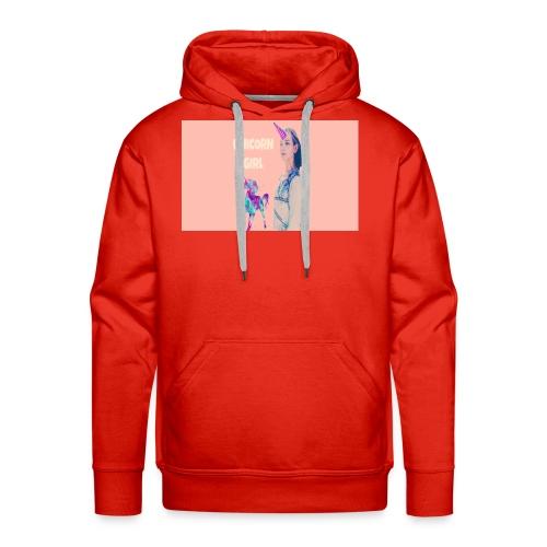 unicorn girls shirt - Men's Premium Hoodie