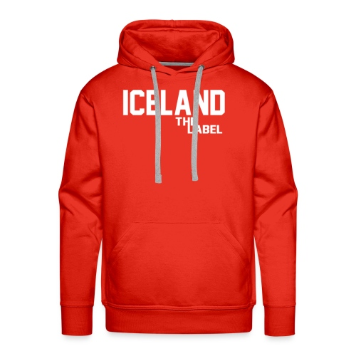 iceland_the_label_printable - Men's Premium Hoodie
