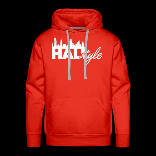 HALIStyle City Skyline - Men's Premium Hoodie