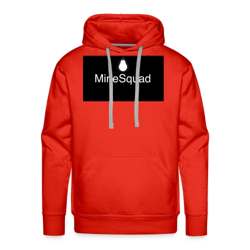 #MineSquad Thinking Logo - Men's Premium Hoodie