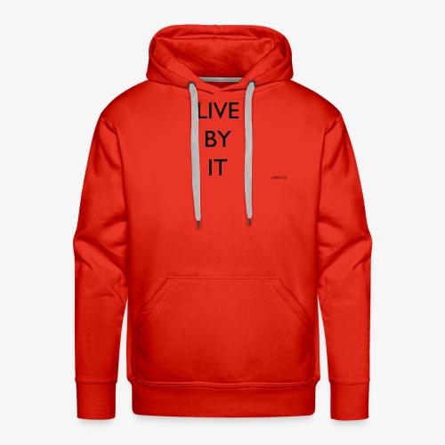 LIVE BY IT rockos co - Men's Premium Hoodie