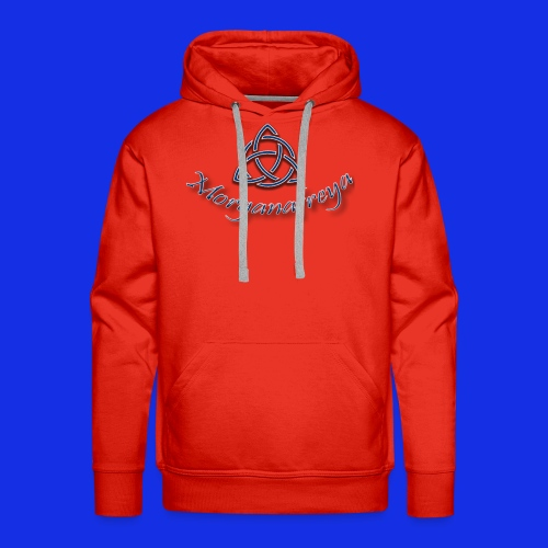 Morganafreya Celtic Knot Icon - Men's Premium Hoodie