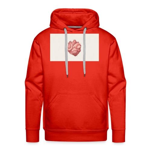 digital art heart art background 103910 1920x1080 - Men's Premium Hoodie