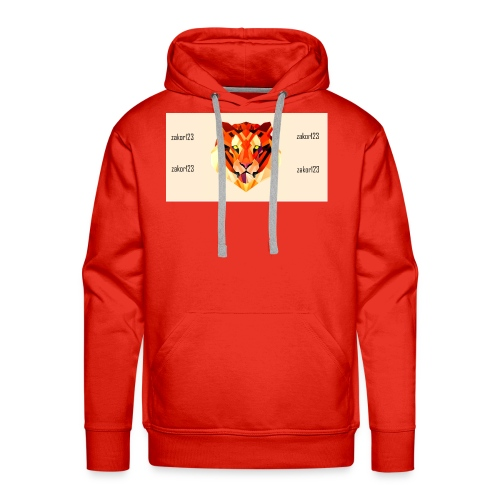 zakor´s123 official T-shirt - Men's Premium Hoodie