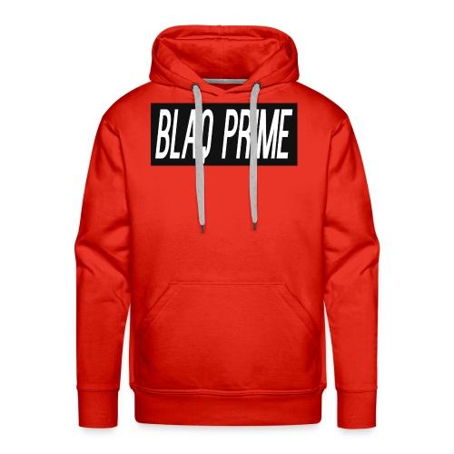 Blaq Prime Box Logo - Men's Premium Hoodie